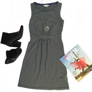 Boden Striped Day Dress Size 4